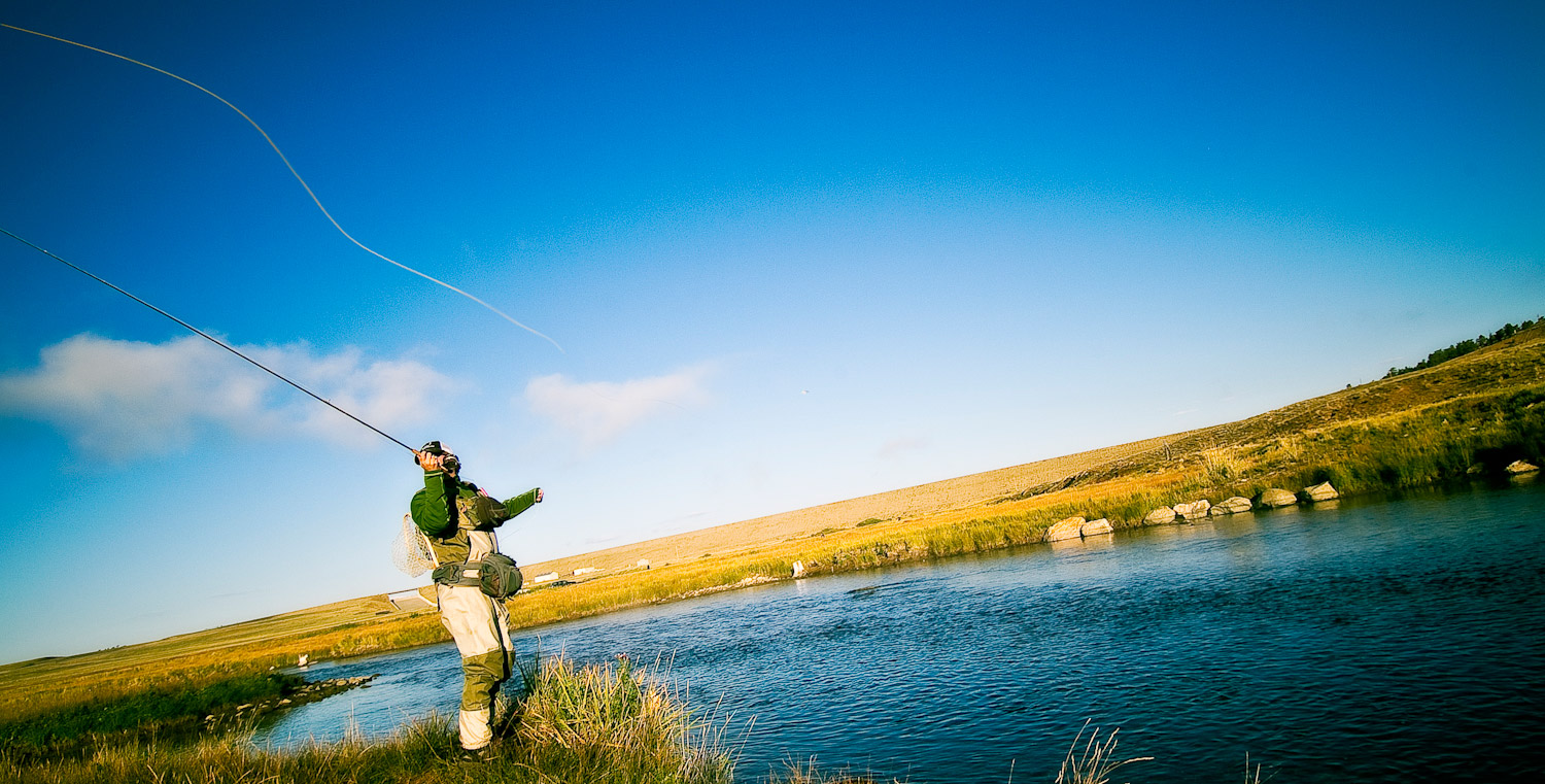 How to make your fly rod cast like a dream fly fishing for Fly fishing casting