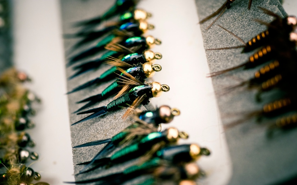 sunday's classic / are gold beaded nymphs out? | fly fishing, Fly Fishing Bait
