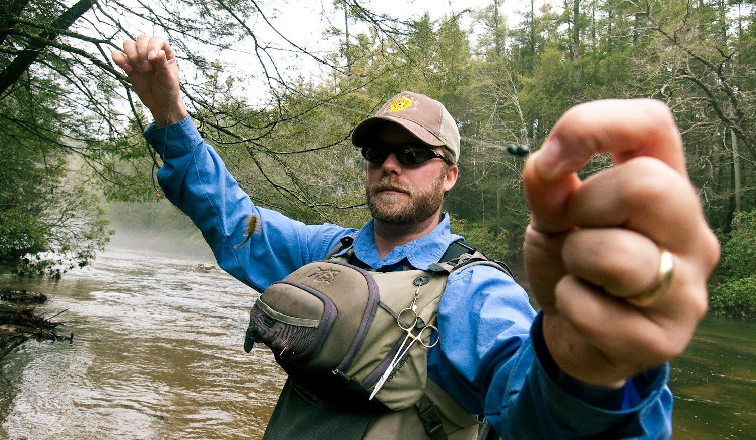 2 alternatives for attaching your split shot fly fishing