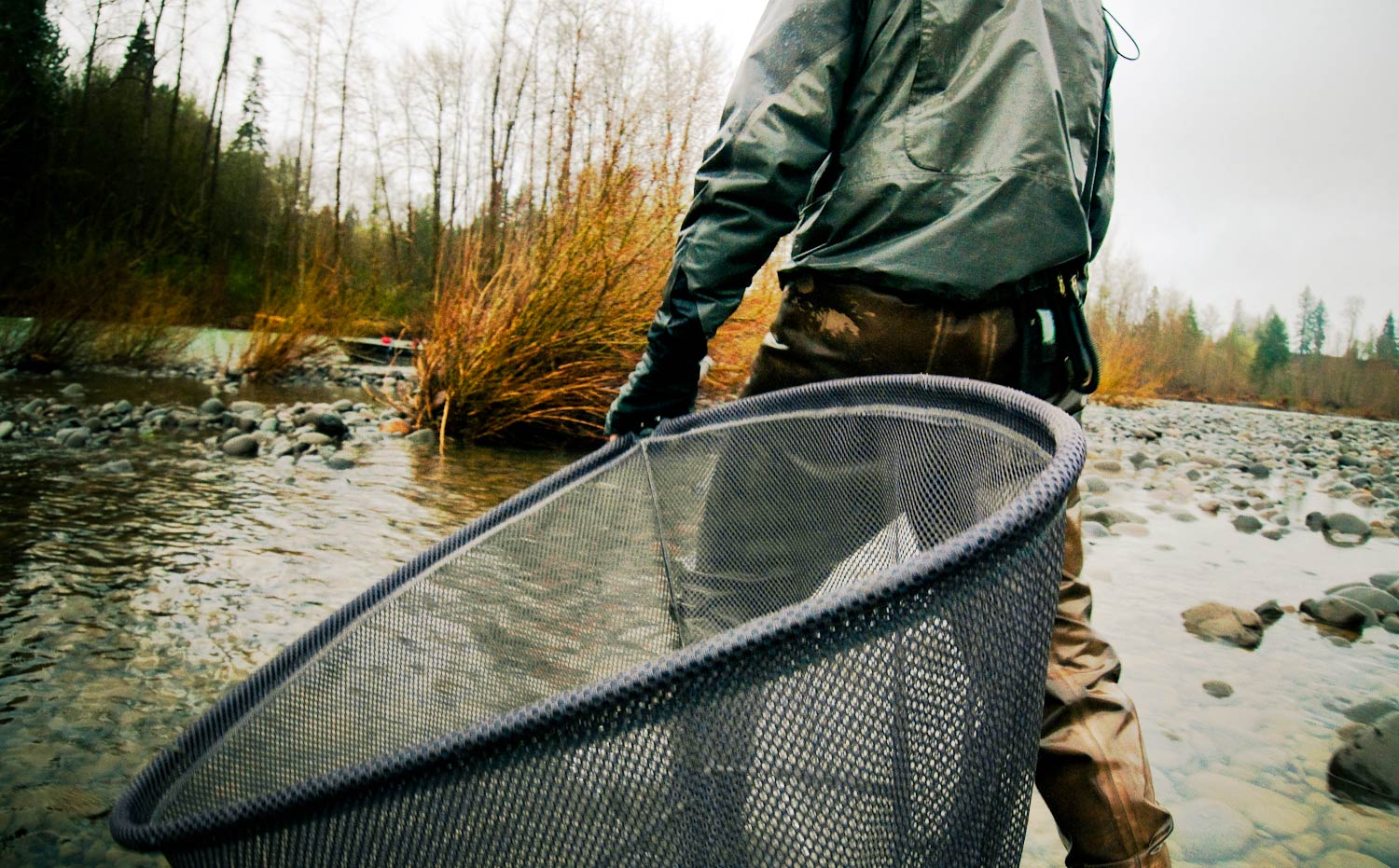 Nets go big or go home fly fishing gink and gasoline for Fly fishing net