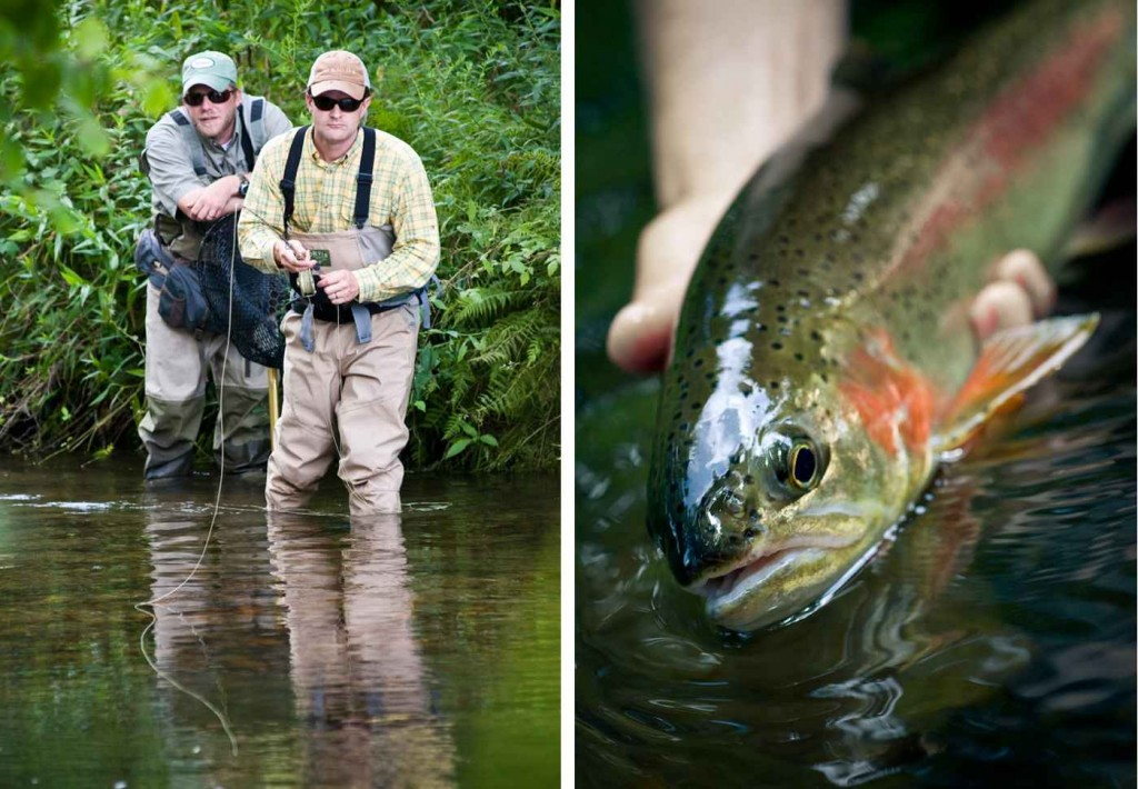 Keep your rod tip off the water for longer drag free for Orvis fly fishing blog