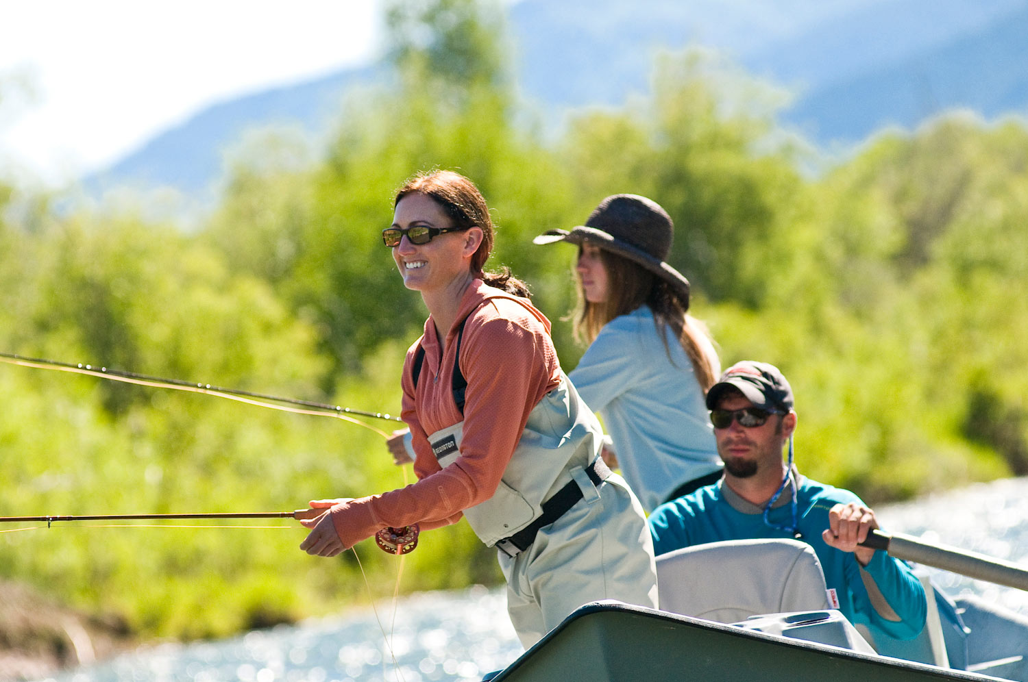 women fly fishers have the potential to dig the industry out of, Fly Fishing Bait