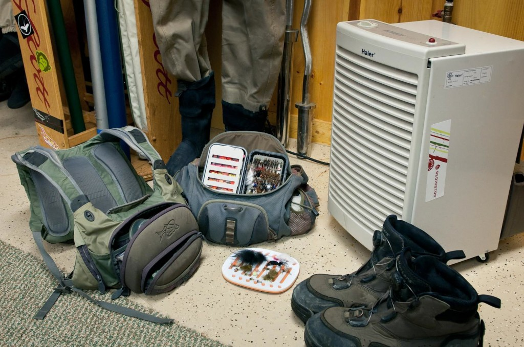 Dehumidifiers keep my fly fishing gear fresh dry fly for Fly fishing clothing
