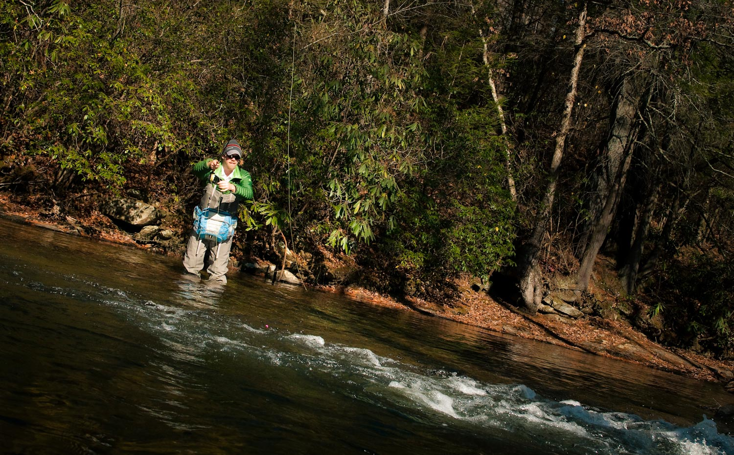 fly fishing fast water chutes for trout | fly fishing | gink and, Fly Fishing Bait