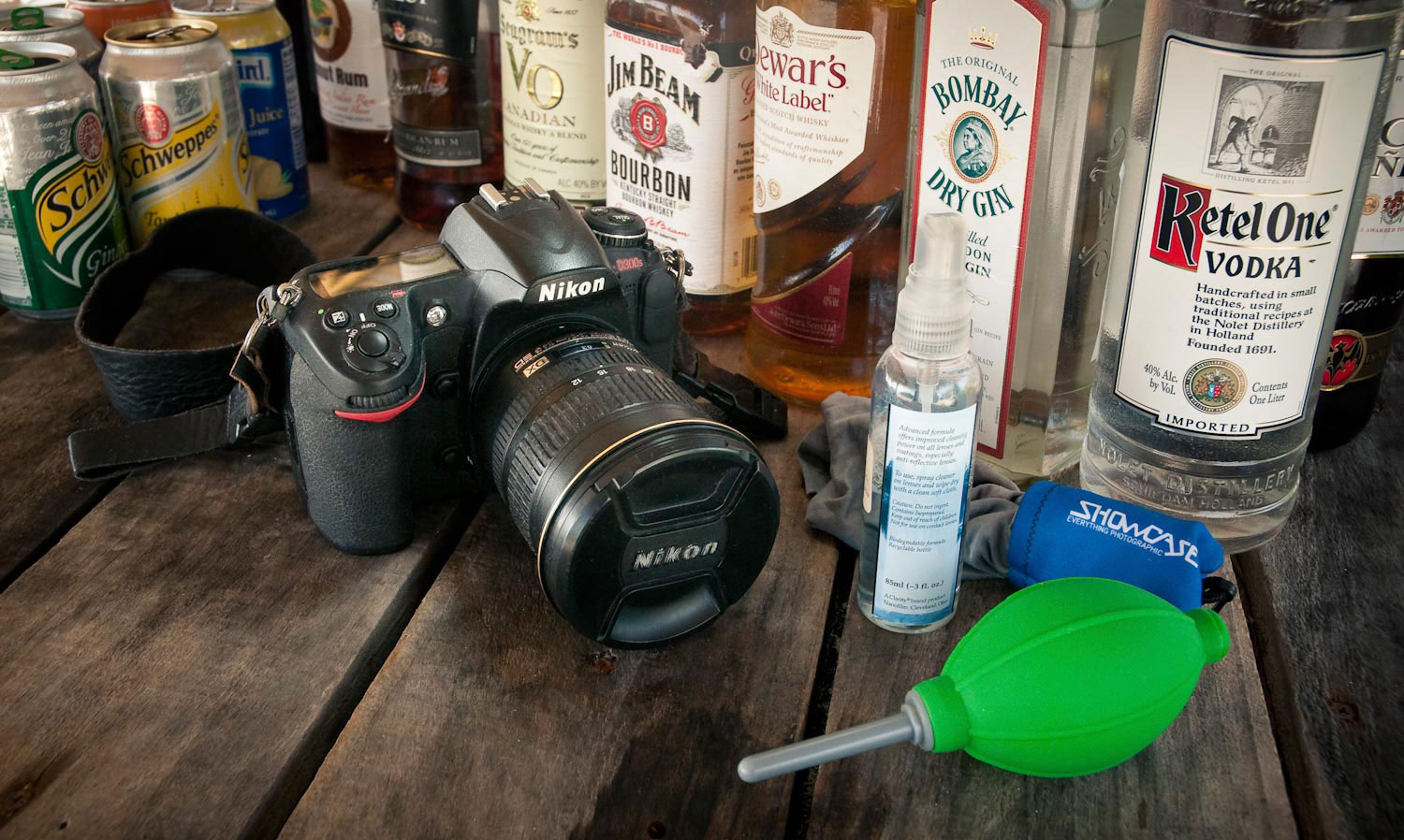 Camera Cleaning Kit (liquor not included)