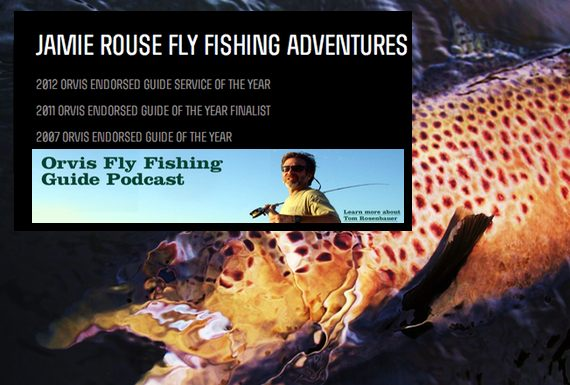Saturday 39 s shoutout jamie rouse podcast and hog snare for Fly fishing podcast