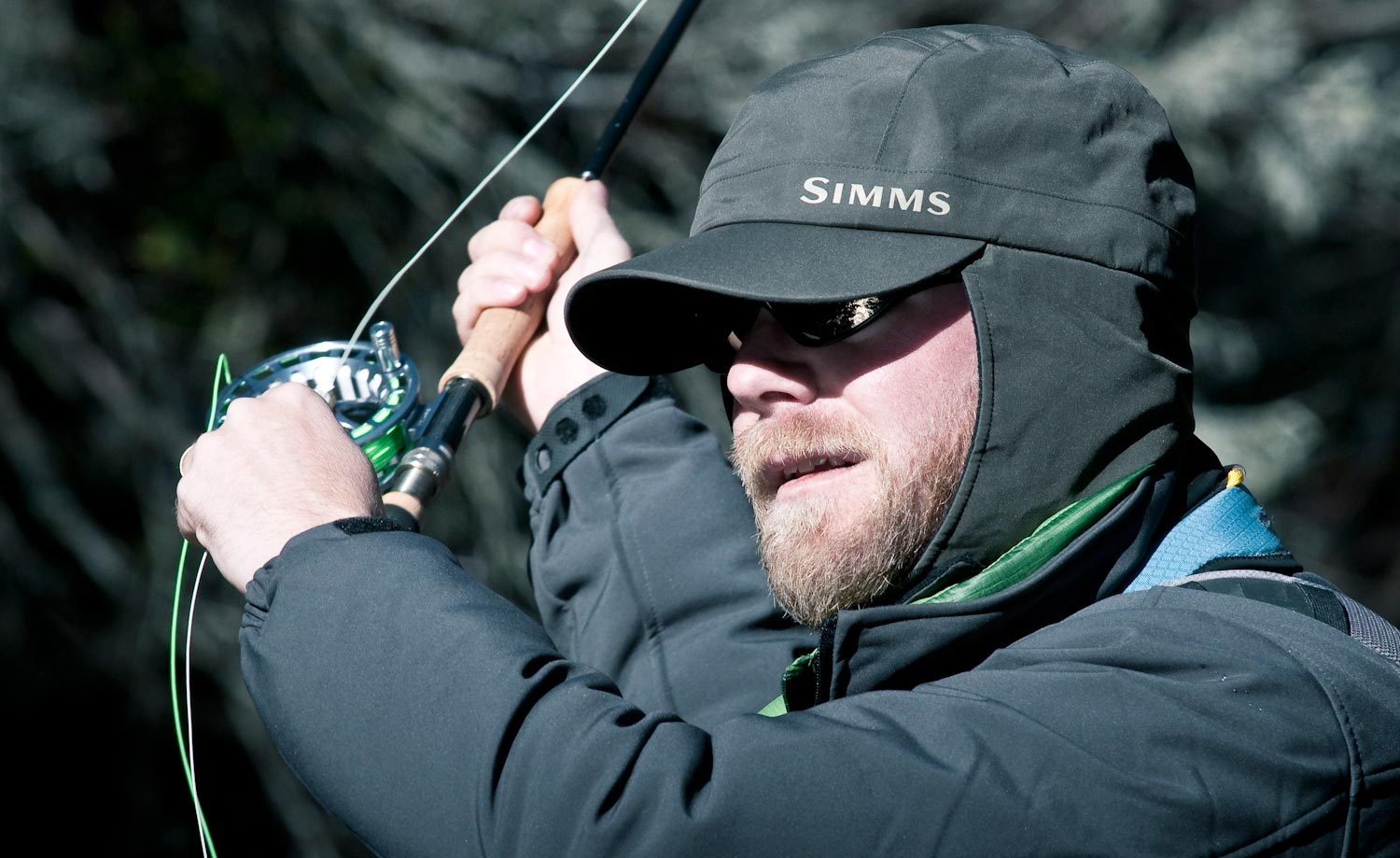 Gore tex exstream hat by simms fly fishing gink and for Simms fly fishing