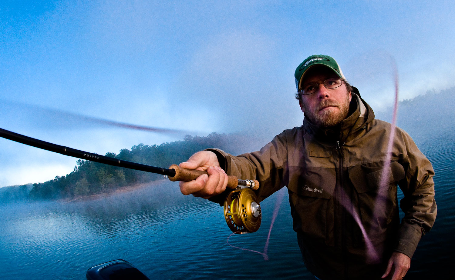 Spring bass tactics for southern appalachian lakes fly for Spring bass fishing