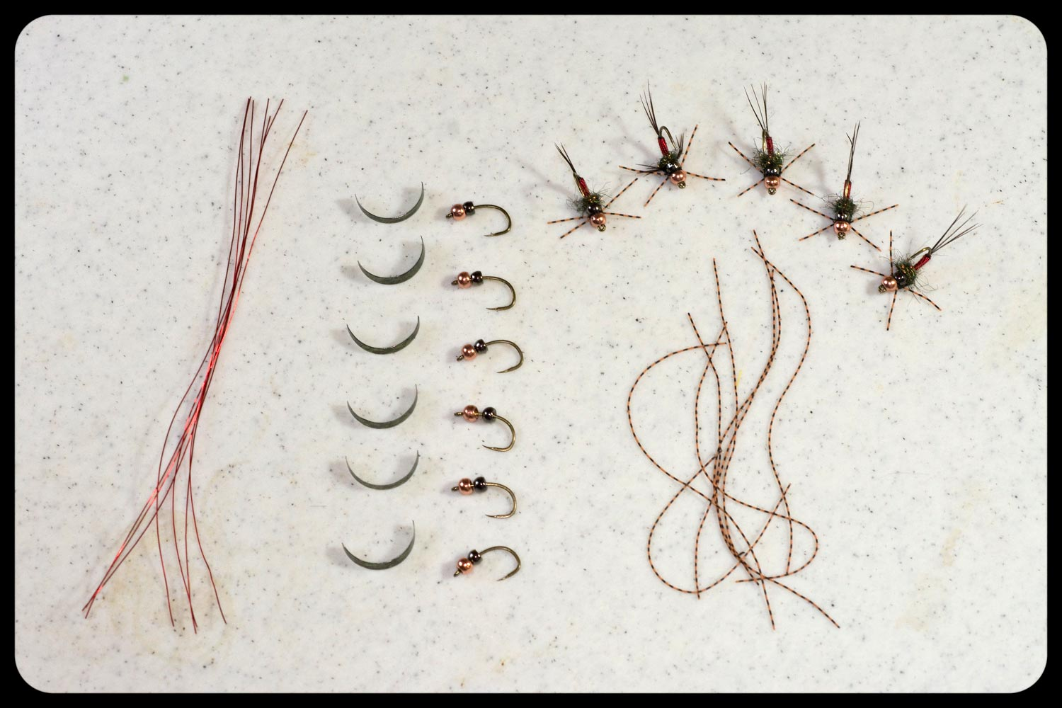 tie twice the flies in half the time fly fishing gink