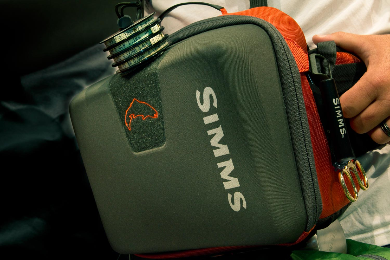 Innovative new fly fishing packs from simms fly fishing for Fly fishing packs