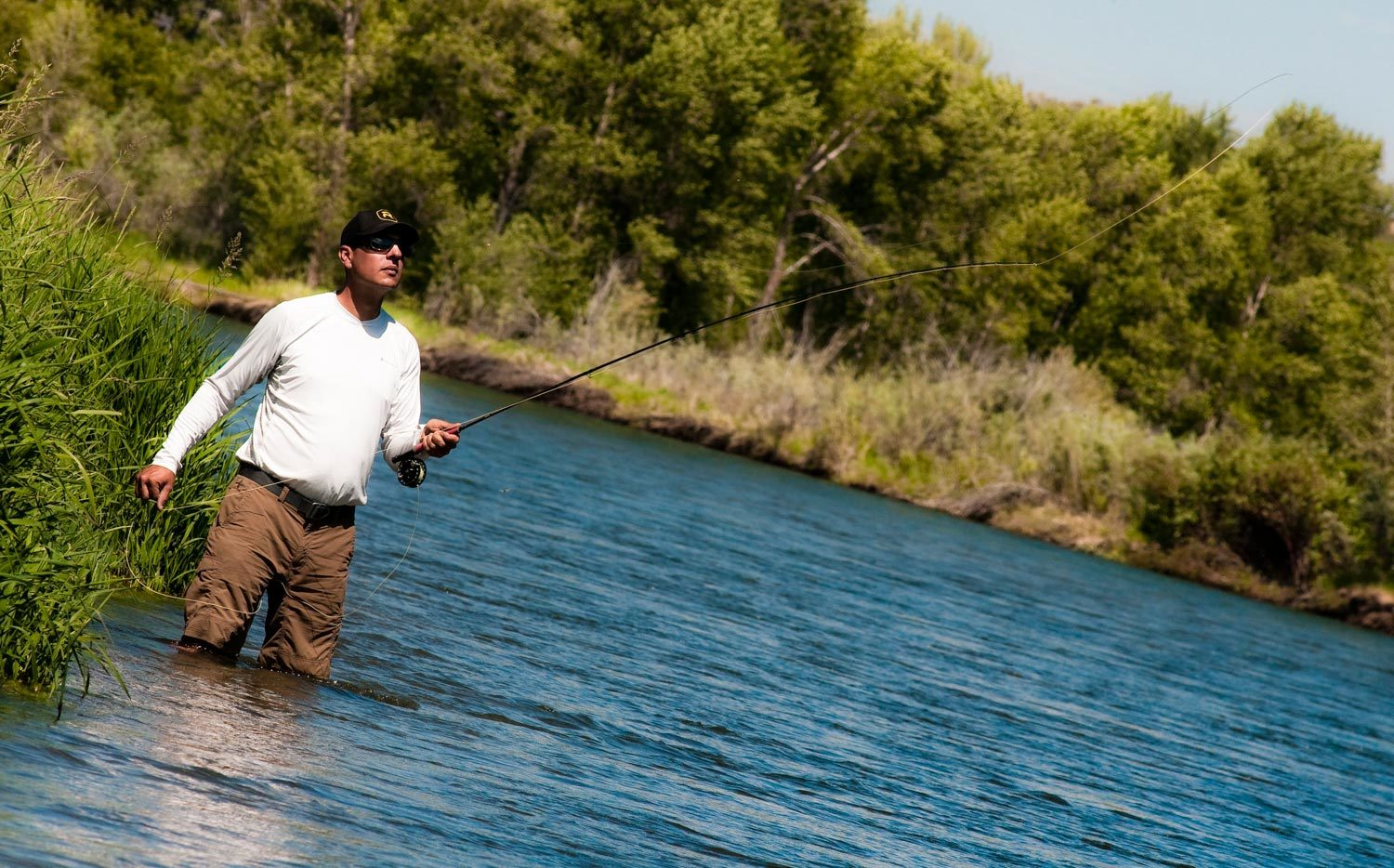 Limit false casting to improve your casting stroke fly for Fly fishing casting