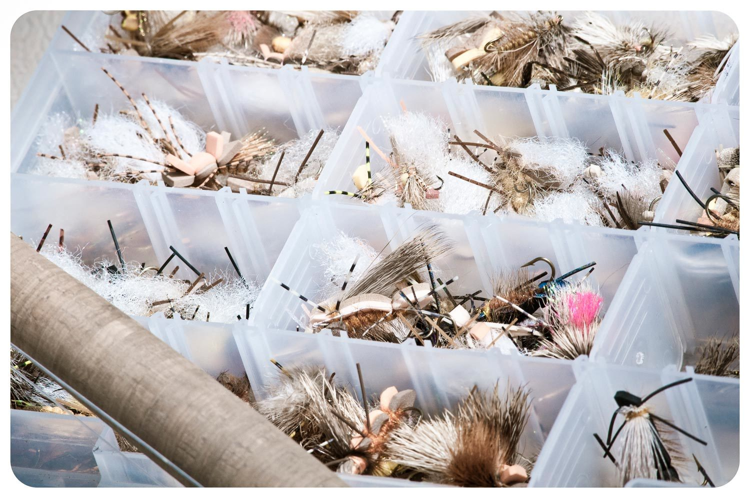 Use Old Plano Boxes For Bulk Fly Storage