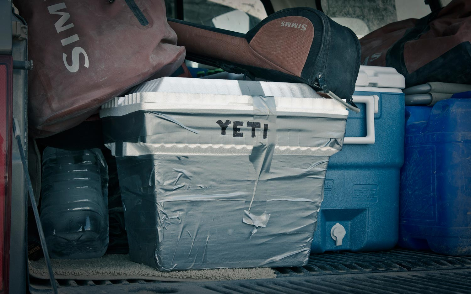 sunday classic the homemade yeti cooler fly fishing gink and