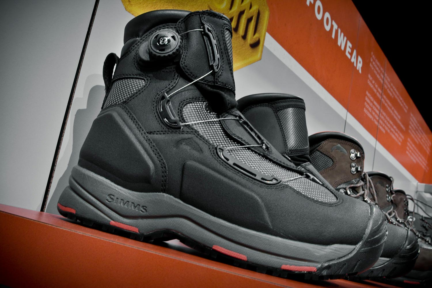Simms 2014 wading boots change the way you wade fly for Saltwater wade fishing gear