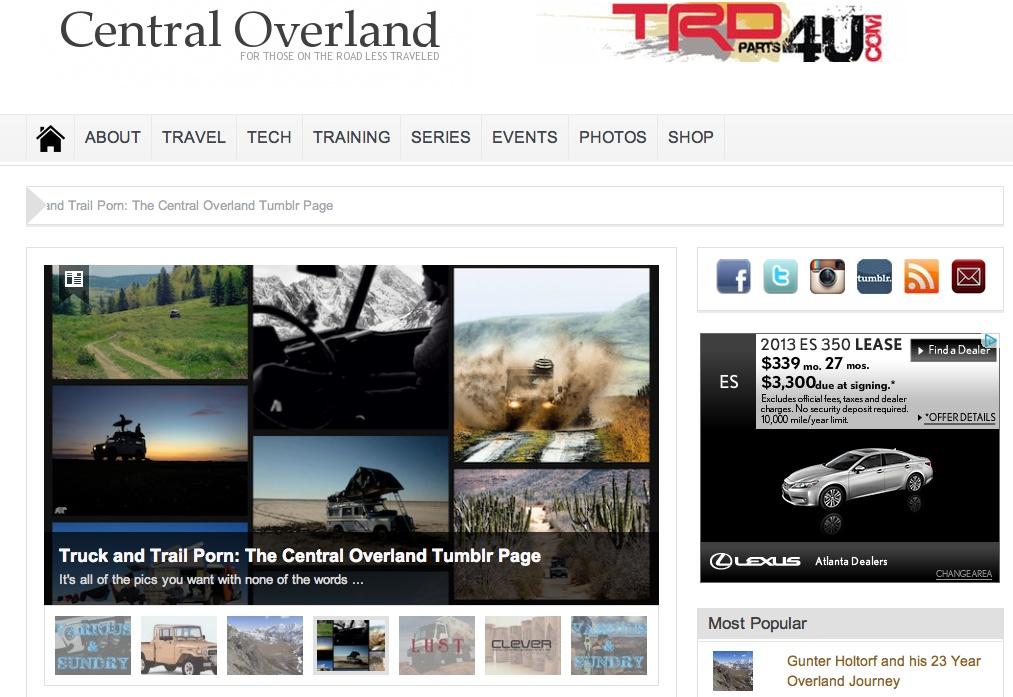 central-overland