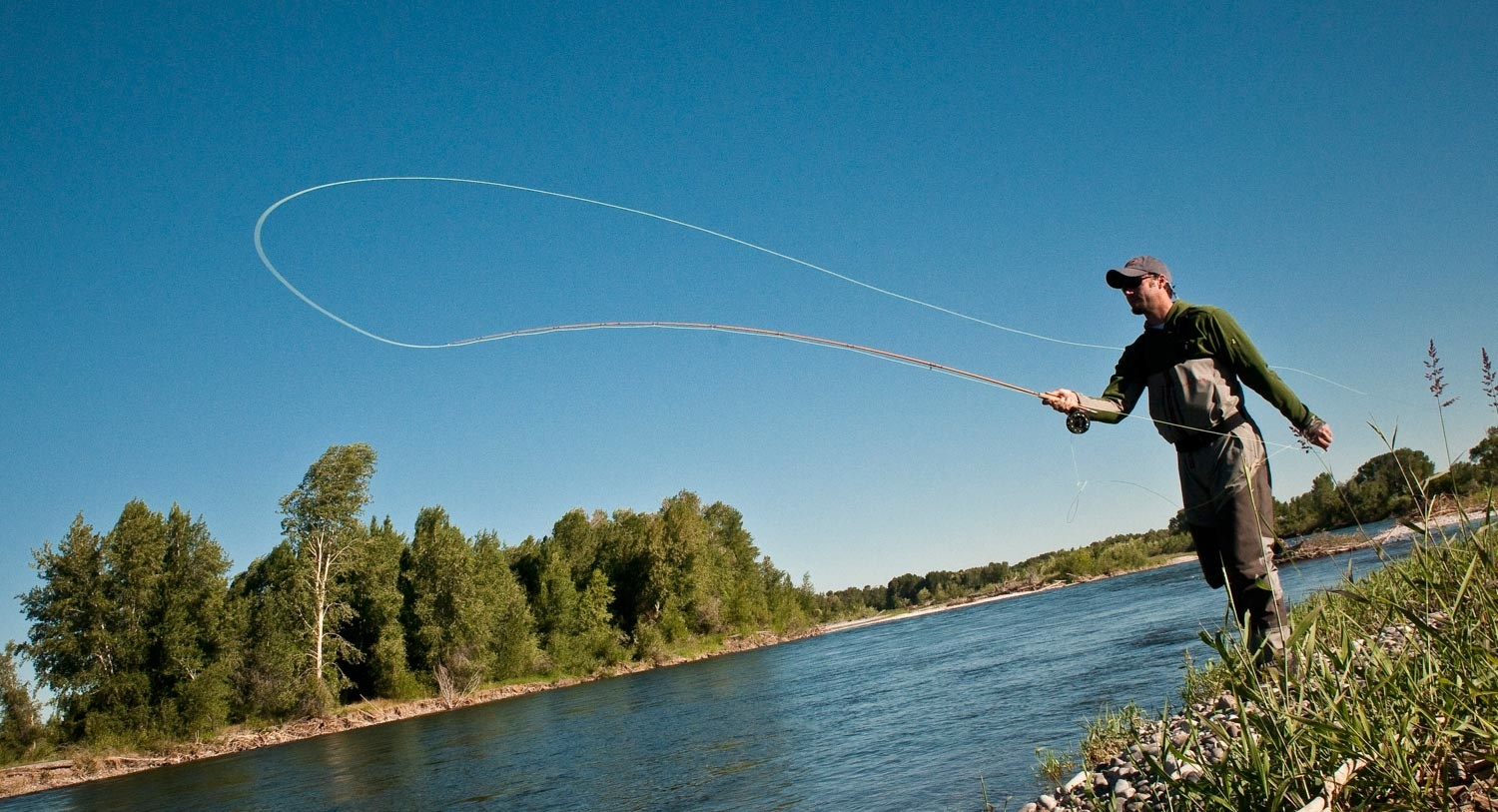 Fly Casting Tip - Rely On Trained Muscle Memory for ...