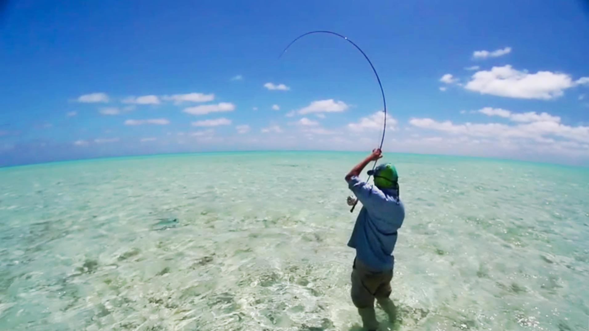 "From the video ""Cuba Saltwater Permit Fishing"""