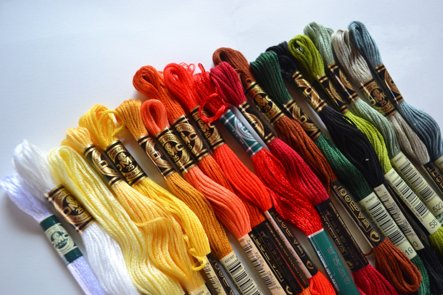 Fly Tying Material DMC Embroidery Floss For Midge Patterns | Fly Fishing | Gink And Gasoline ...
