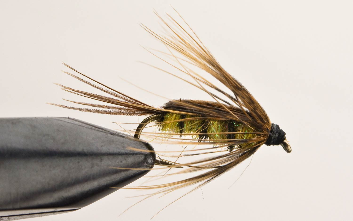 Davie mcphail fly tying fly fishing gink and gasoline for Fly fishing tying