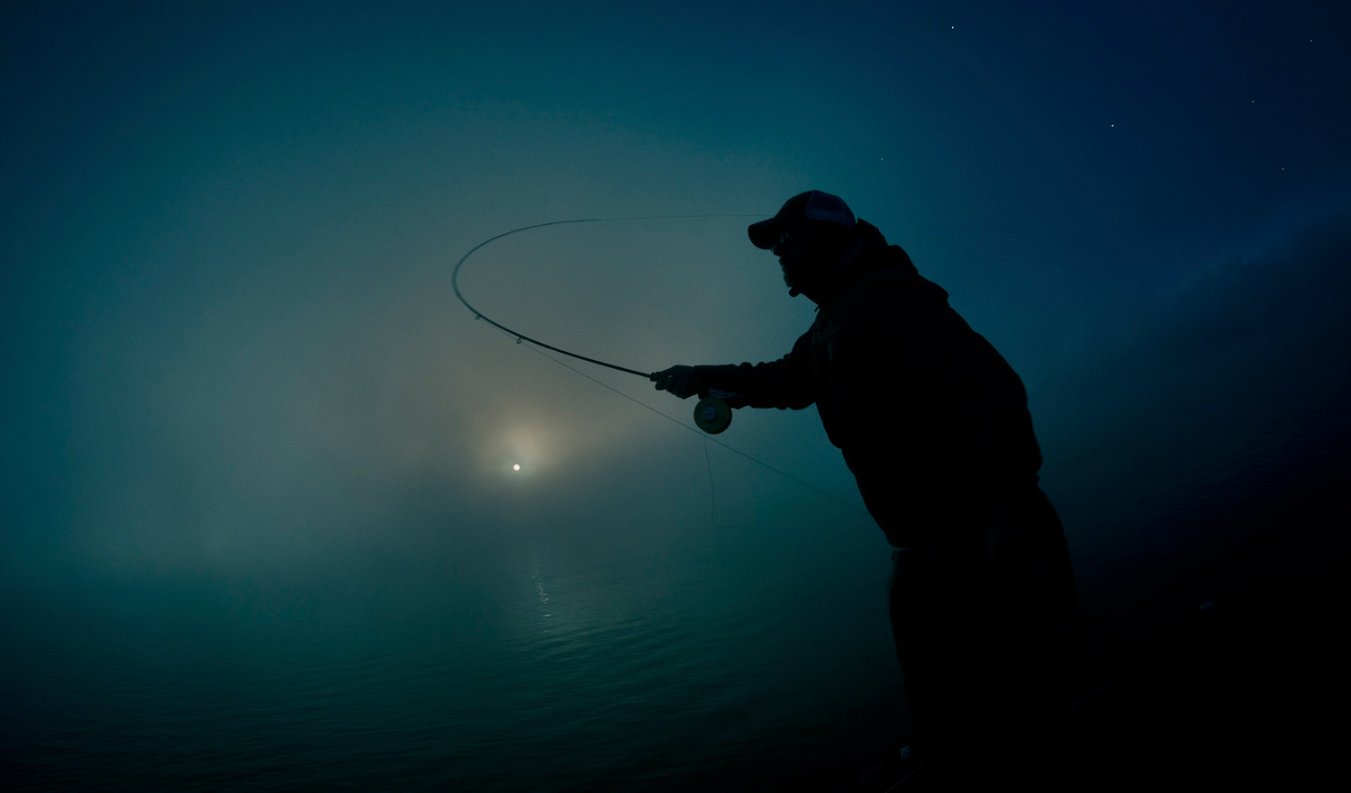 in the dark of night fly fishing gink and gasoline