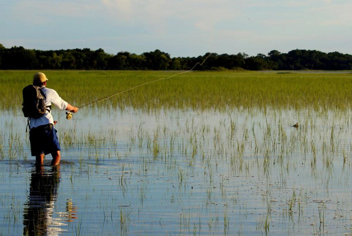 Flood tide redfish fly fishing gink and gasoline how for Fly fishing flys