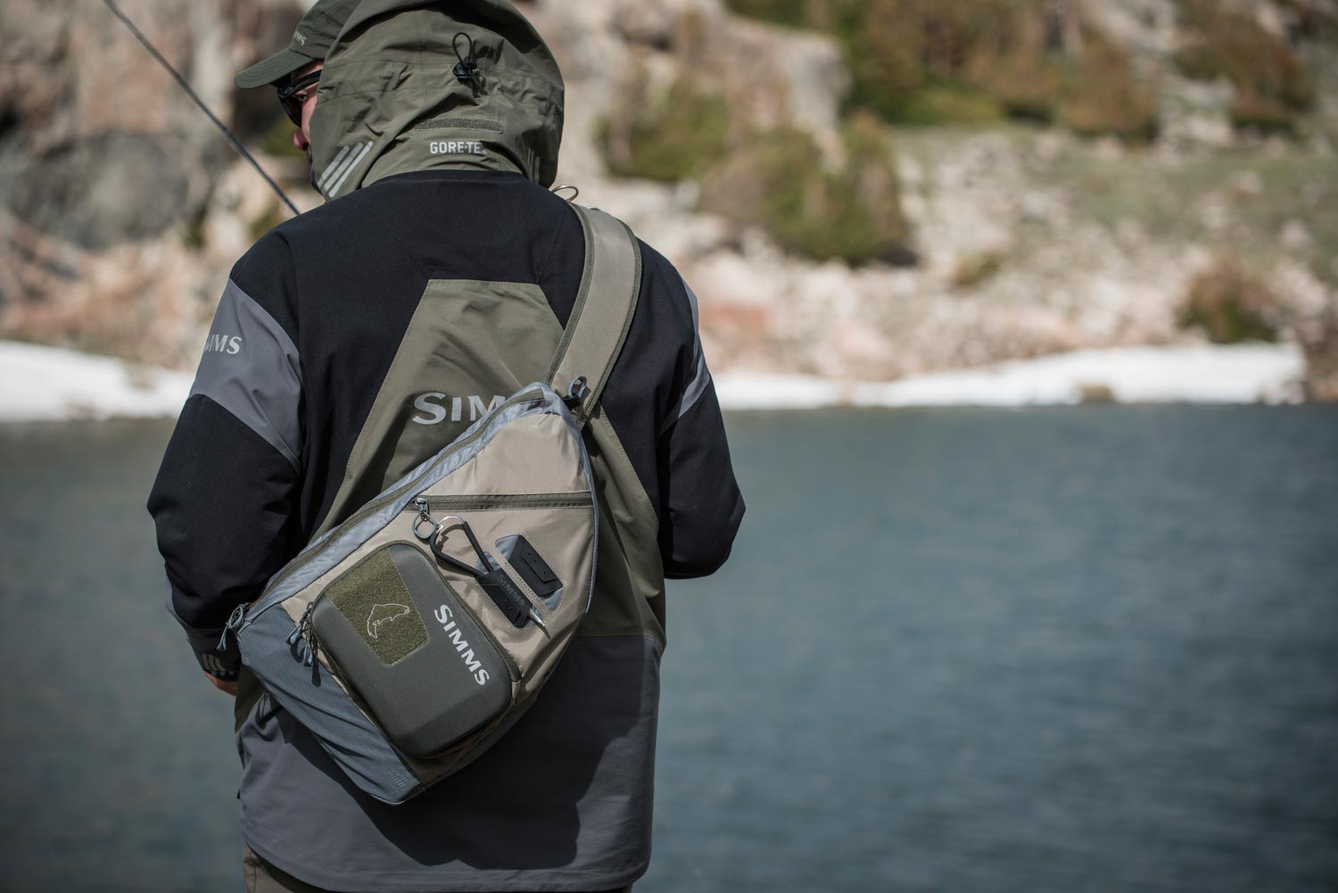The simms headwater sling pack fly fishing gink and for Simms fly fishing