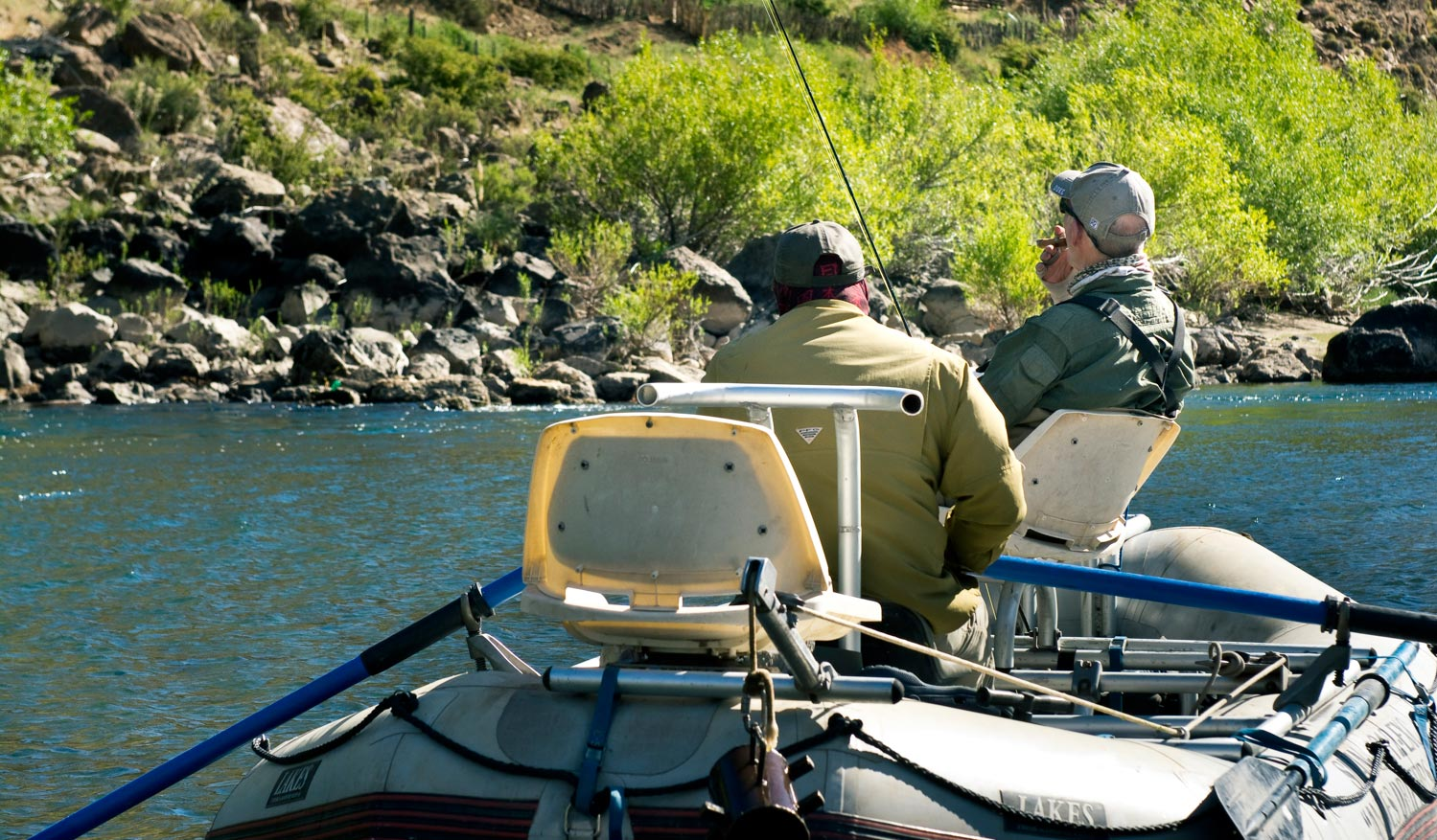 The geezer hatch fly fishing gink and gasoline how for Hatch fly fishing