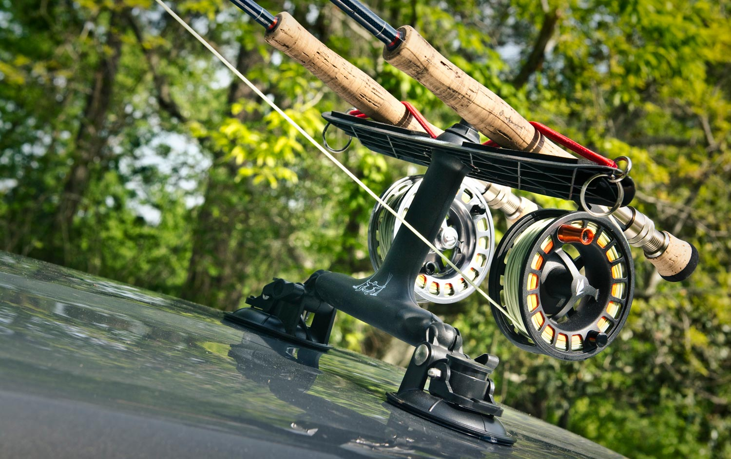 Vehicle rod carrier vehicle ideas for Fishing pole holder for car