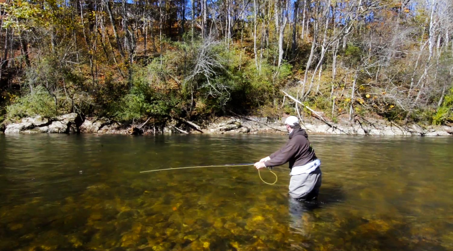 The reach cast video fly fishing gink and gasoline for Fly fishing casting techniques