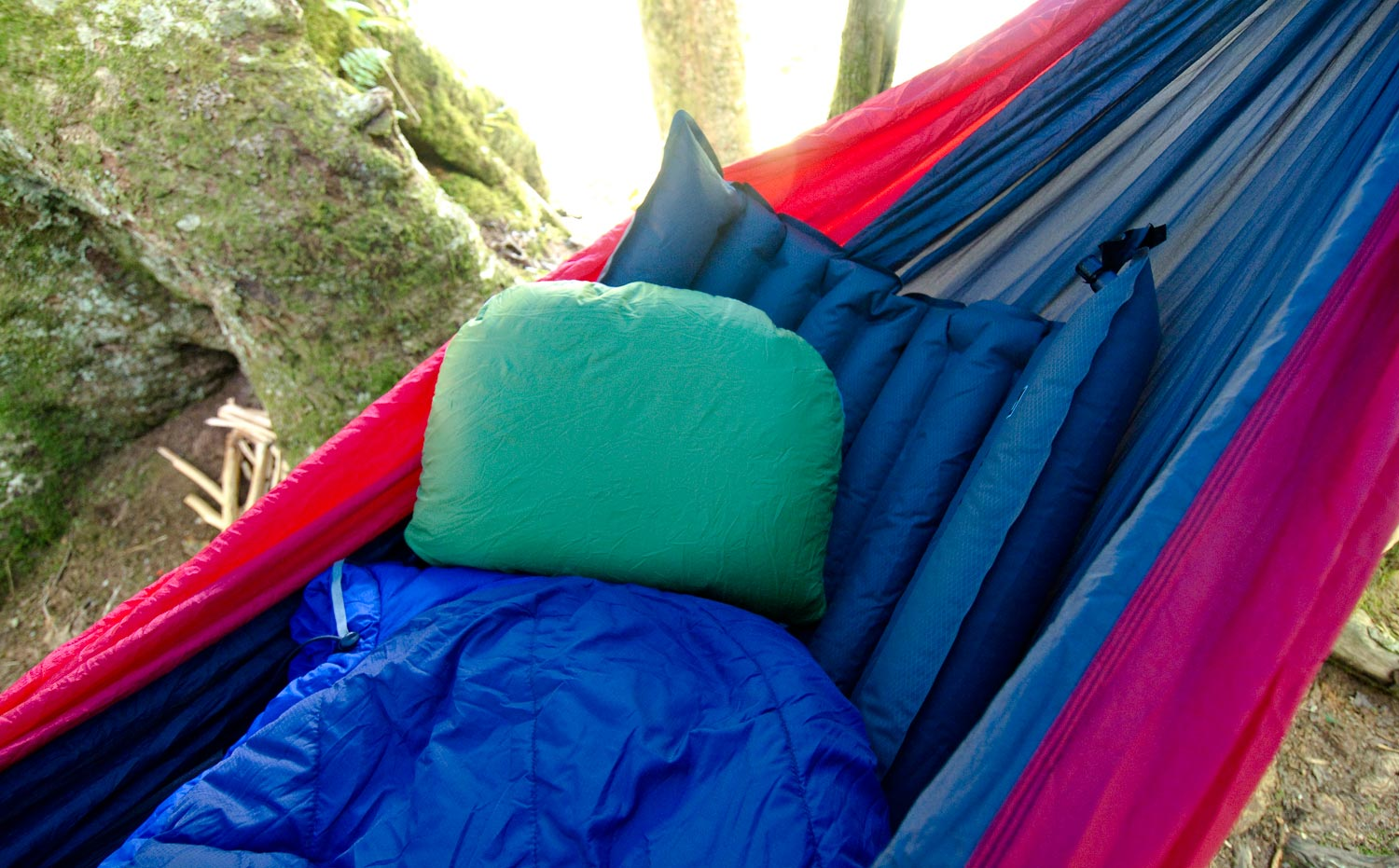 the notorious drawback to hammocks is that they are cold  having air circulating under you robs you of heat in cool weather  you can buy an expensive     hammock camping for backcountry adventures   fly fishing   gink      rh   ginkandgasoline