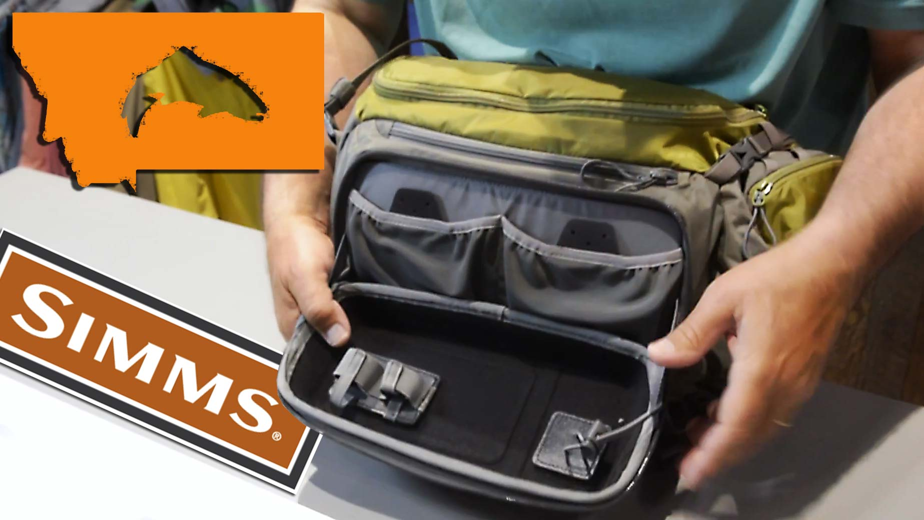 New waypoints packs from simms fly fishing gink and for Simms fishing jobs