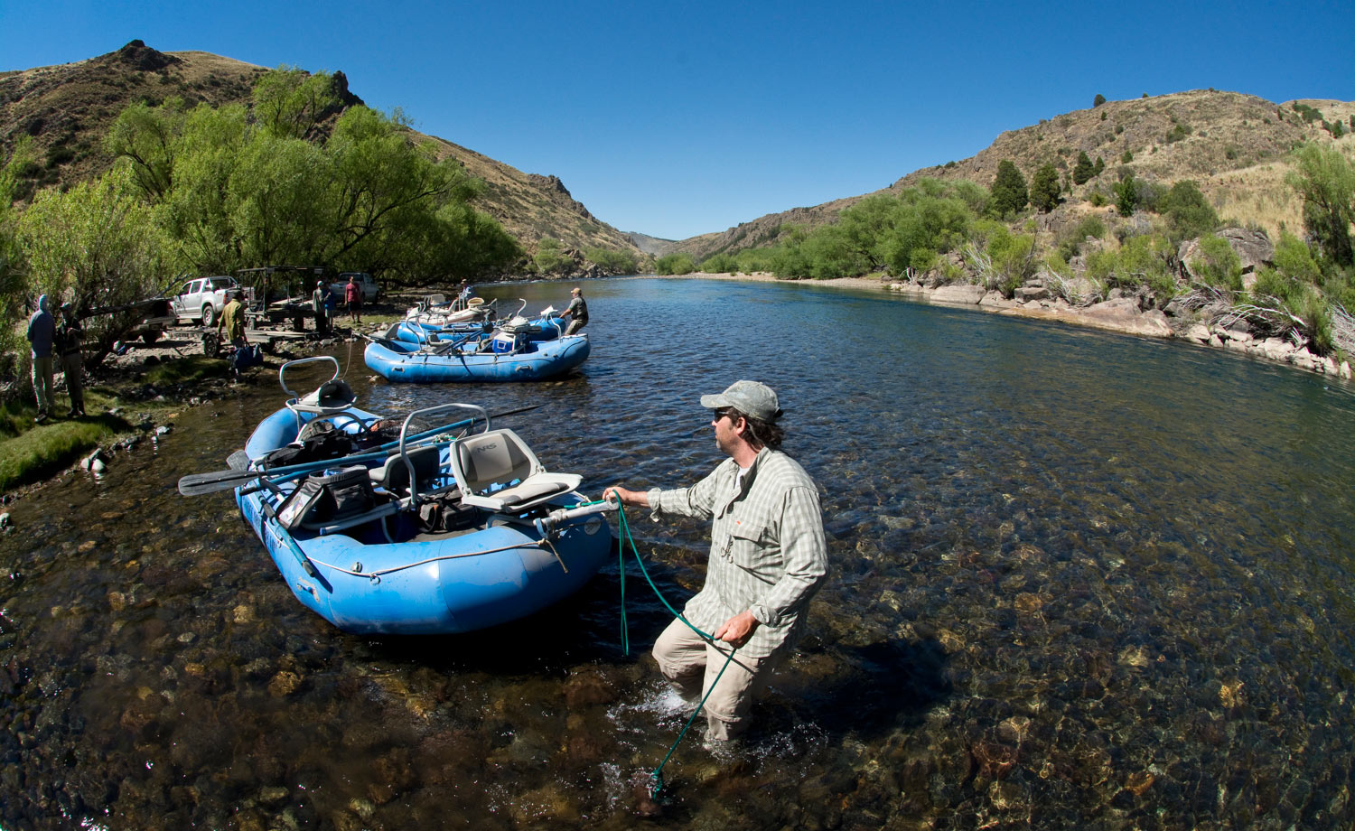 A southern angler in patagonia fly fishing gink and for Fly fishing patagonia
