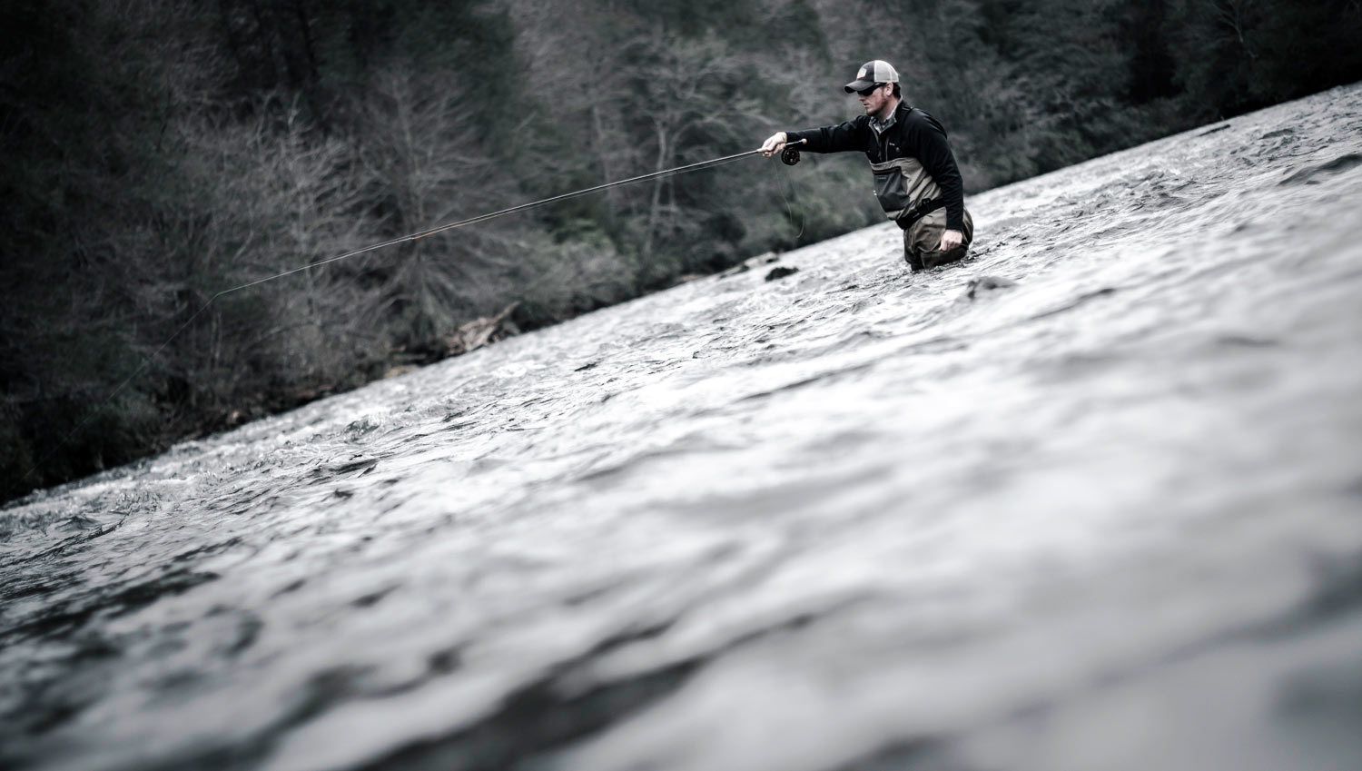 Rod review echo shadow ii fly fishing gink and for Shadow fly fishing