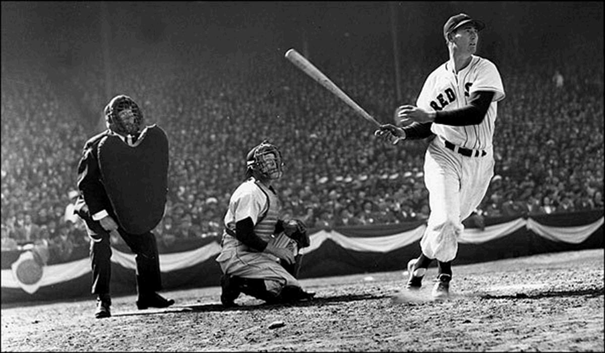 Image result for ted williams hall of fame images