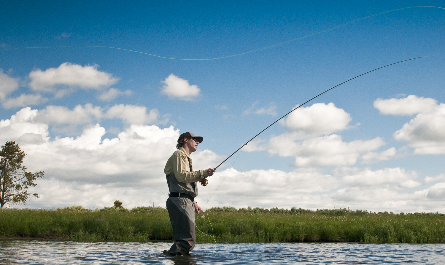 Which fly rod action is best for you fly fishing gink for Where to fish