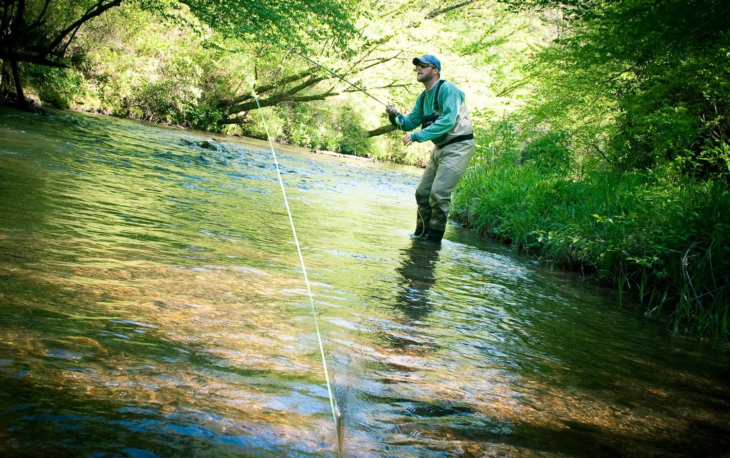 Improving your water haul cast fly fishing gink and for Fly fishing 101