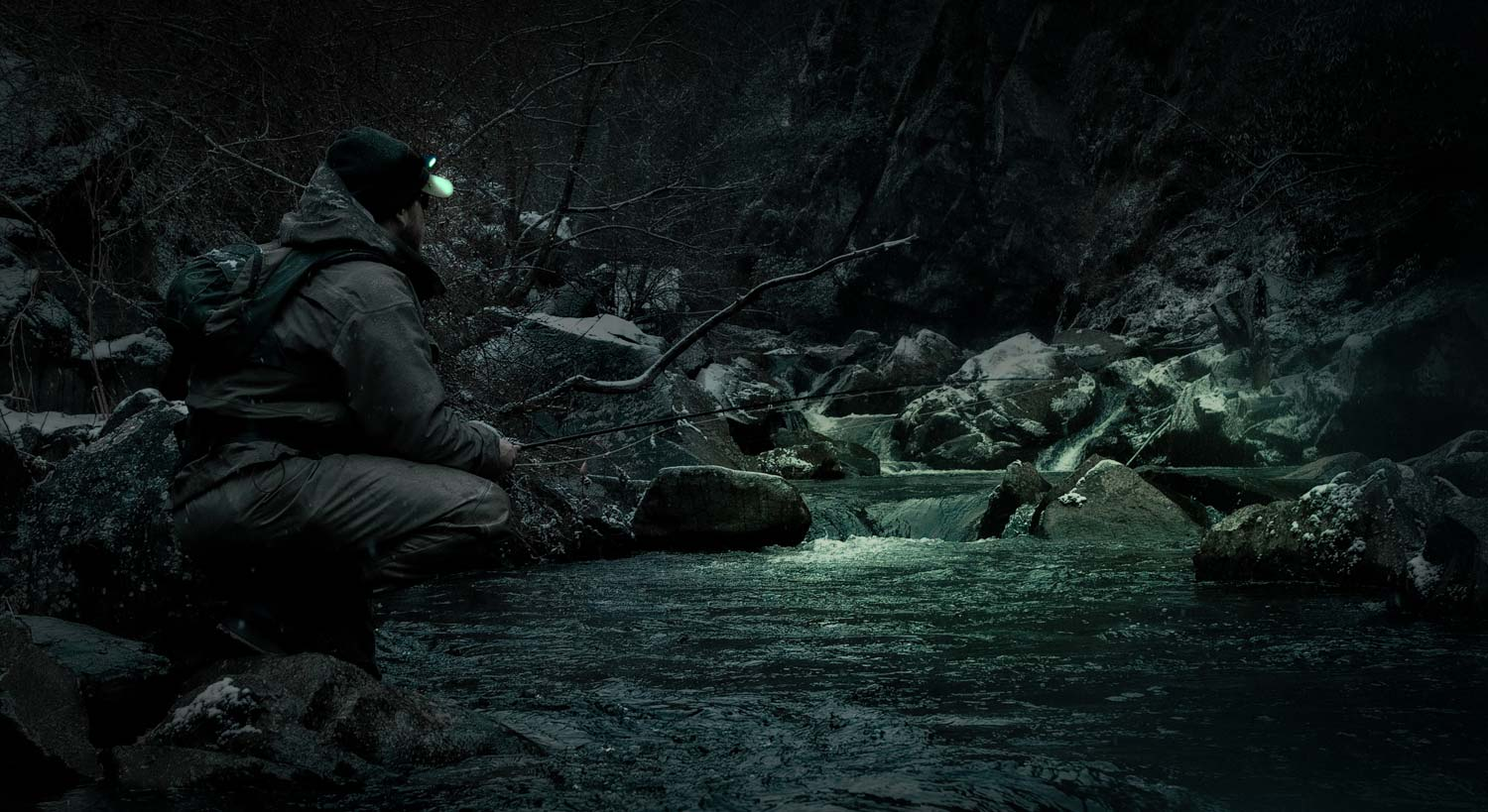 Blog fly fishing gink and gasoline how to fly fish for Trout fishing at night