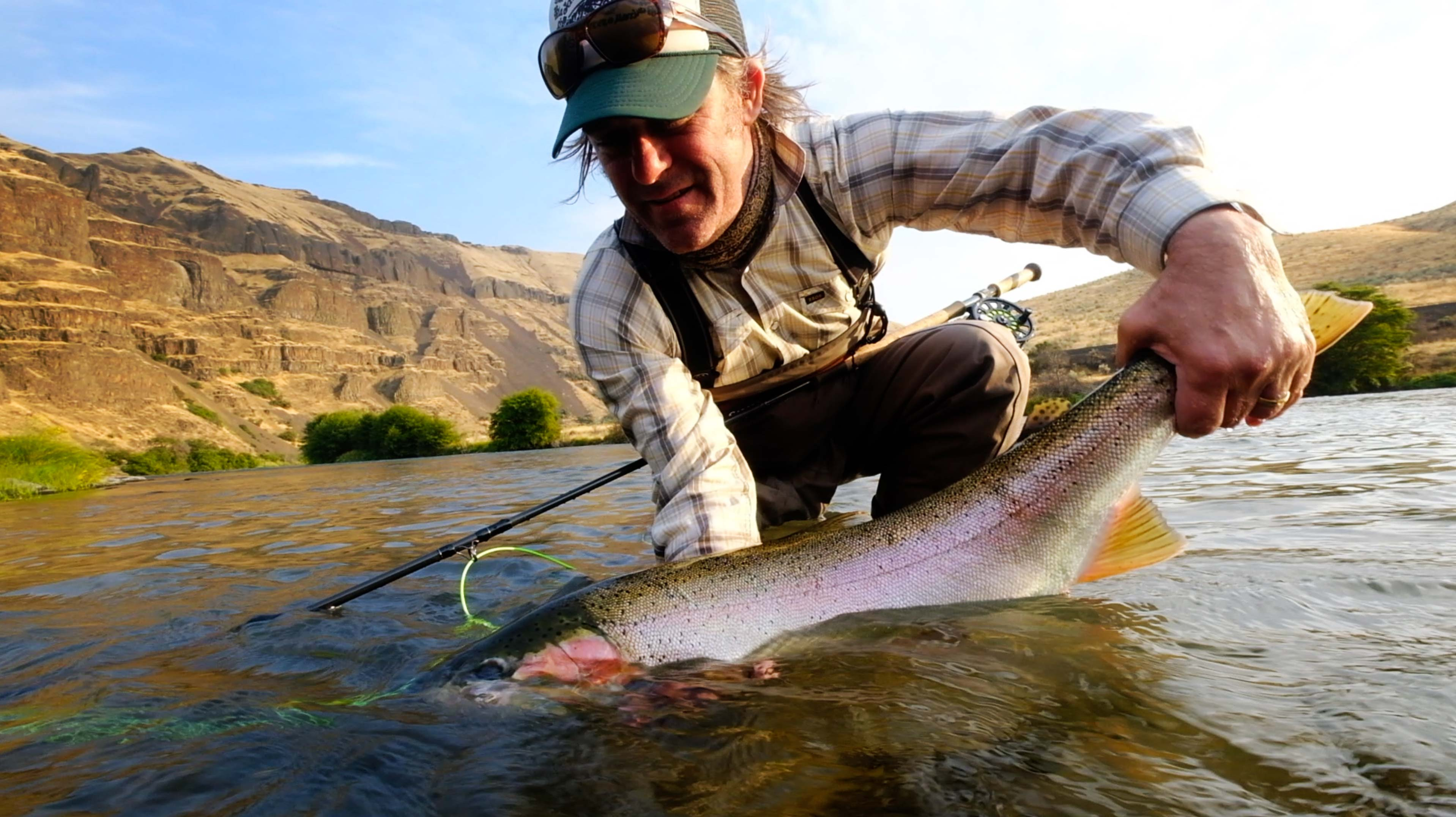 Deschutes Steelhead Camp: Video | Fly Fishing | Gink and Gasoline