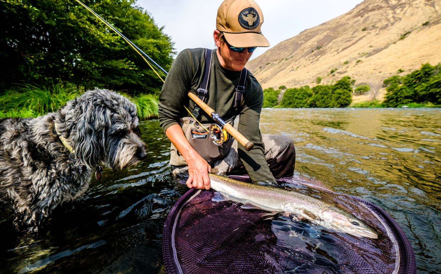 Deschutes steelhead update fly fishing gink and for Youtube trout fishing
